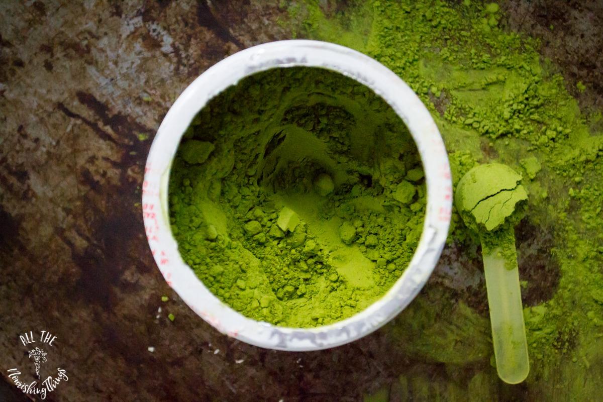 perfect supplements green matchinga powder