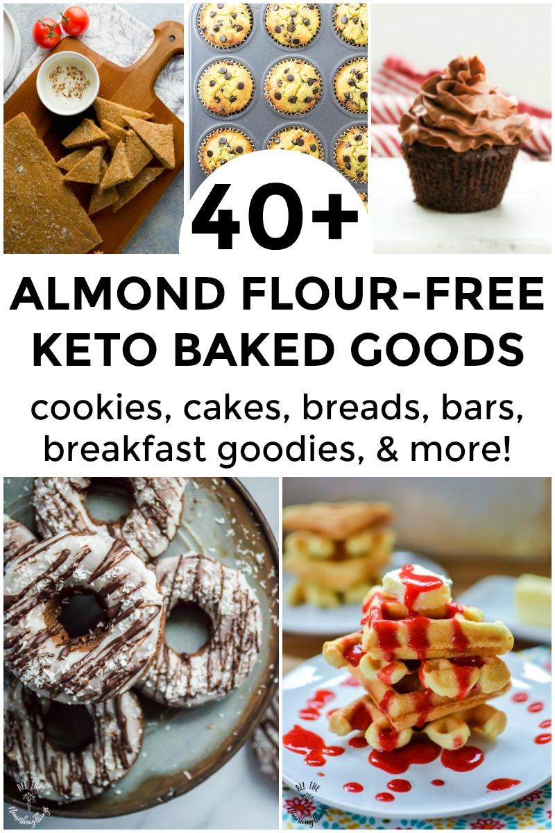 keto dessert recipes no almond flour 1+ Keto Baked Goods Made Without Almond Flour
