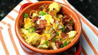 Loaded Cauliflower (Keto Loaded Potatoes)