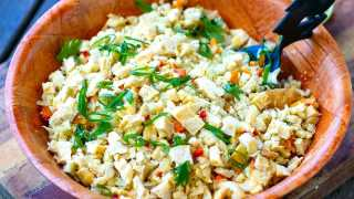 Cauliflower Egg Fried Rice (Paleo, Whole30, Keto) - Irena Macri   Food Fit For Life