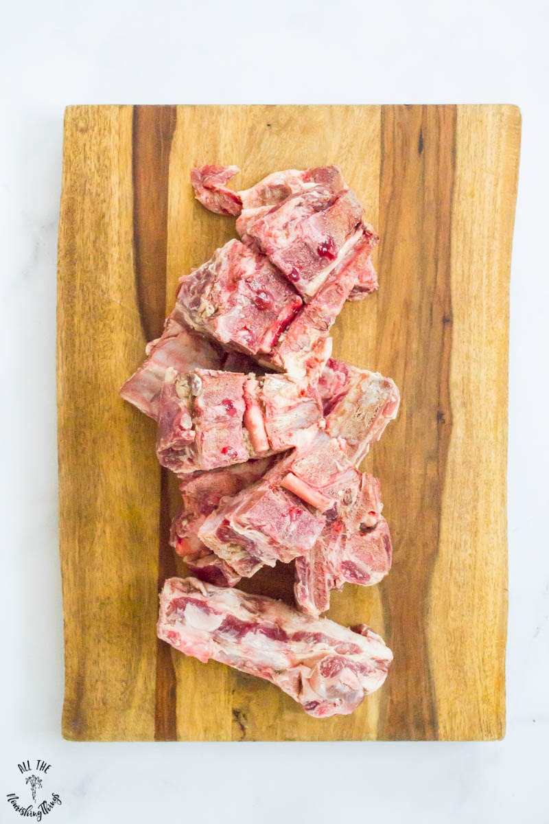 pastured pork neck bones