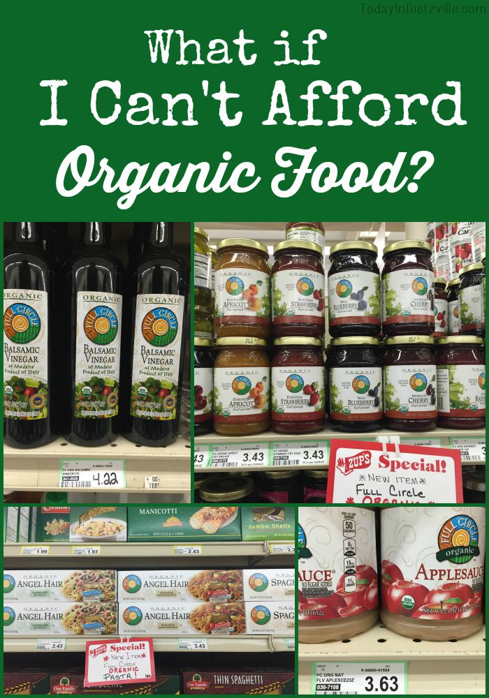 What If I Can't Afford Organic Food?