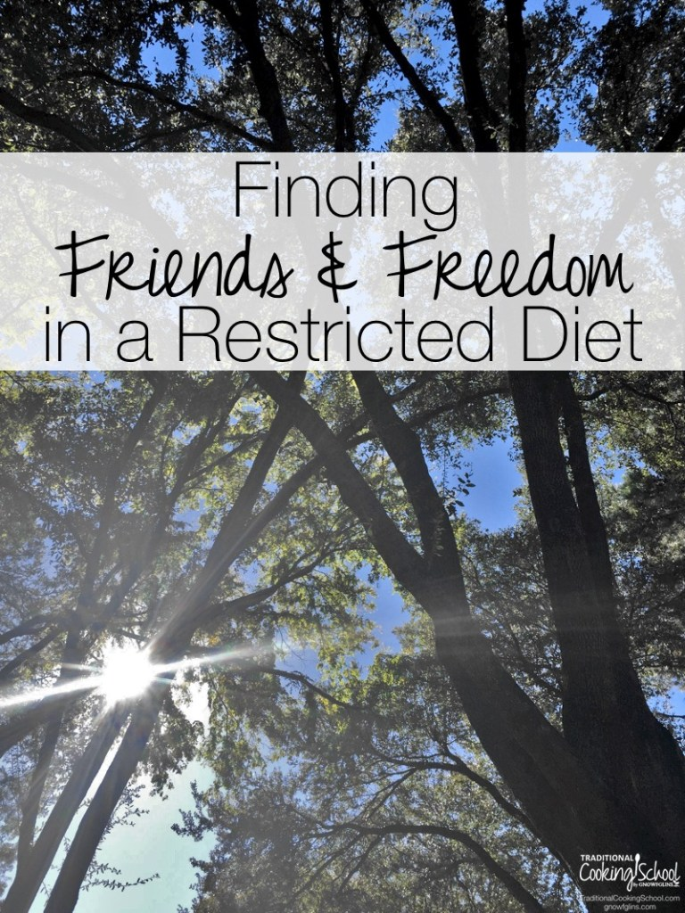 Finding Friends & Freedom in a Restricted Diet