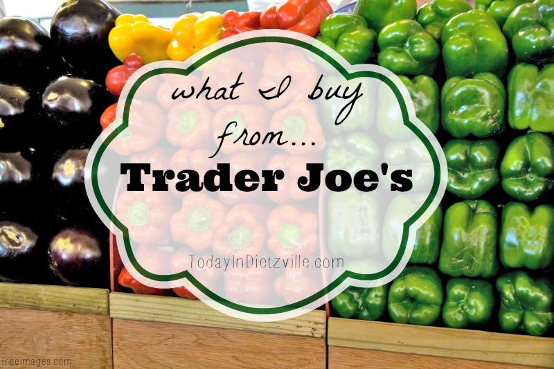 What I Buy From Trader Joe's