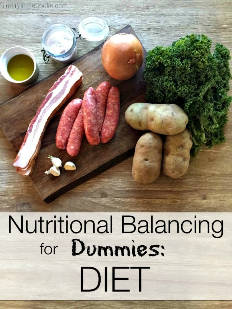 Nutritional Balancing For Dummies: DIET