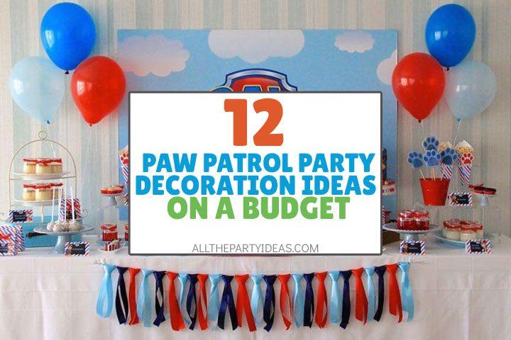 9 diy paw patrol invitation ideas free