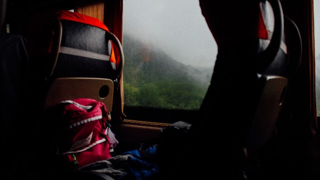 bus ride in South America