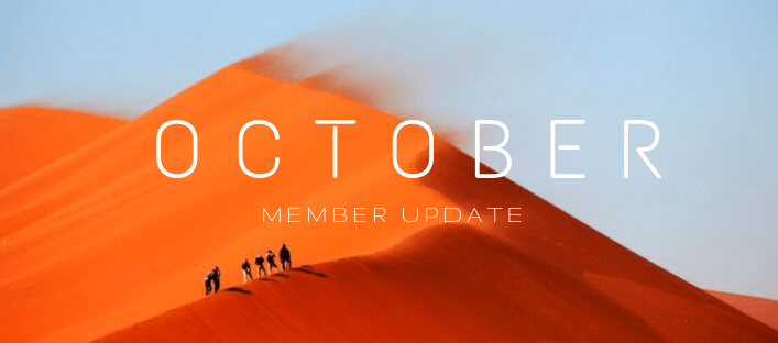 October Member Update