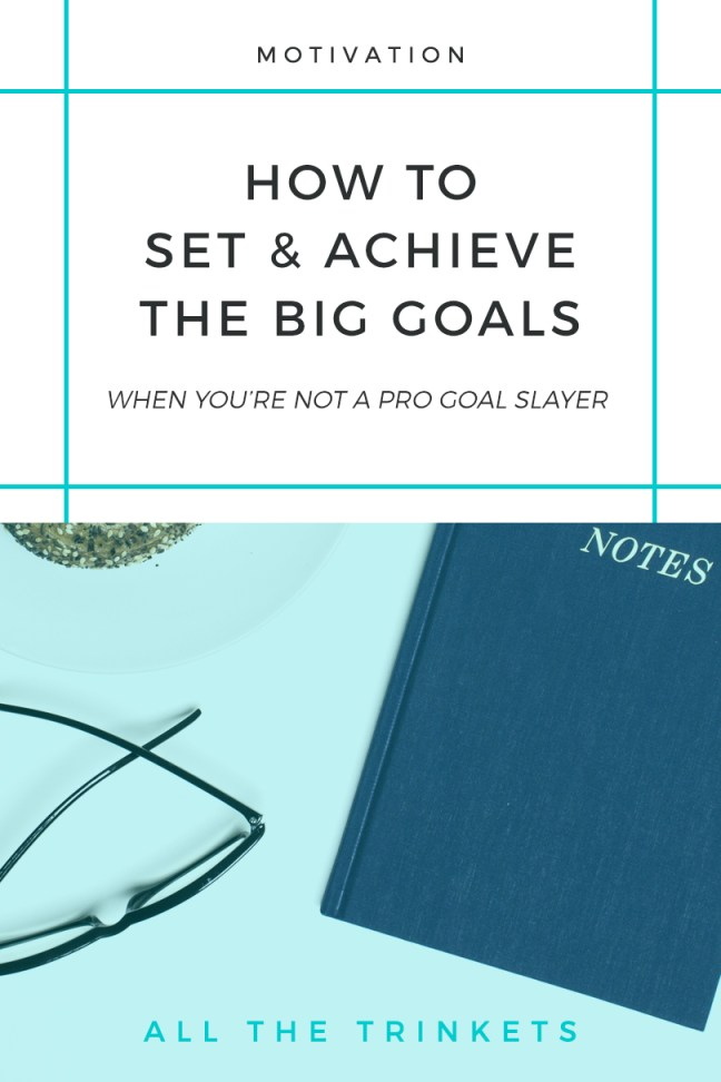 Ever had a hard time setting and achieving goals for yourself? Check out this 5 actionable steps to set and achieve the big goals. #goalplanning #goals