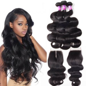 Virgin Brazilian Body Wave Hair Bundles