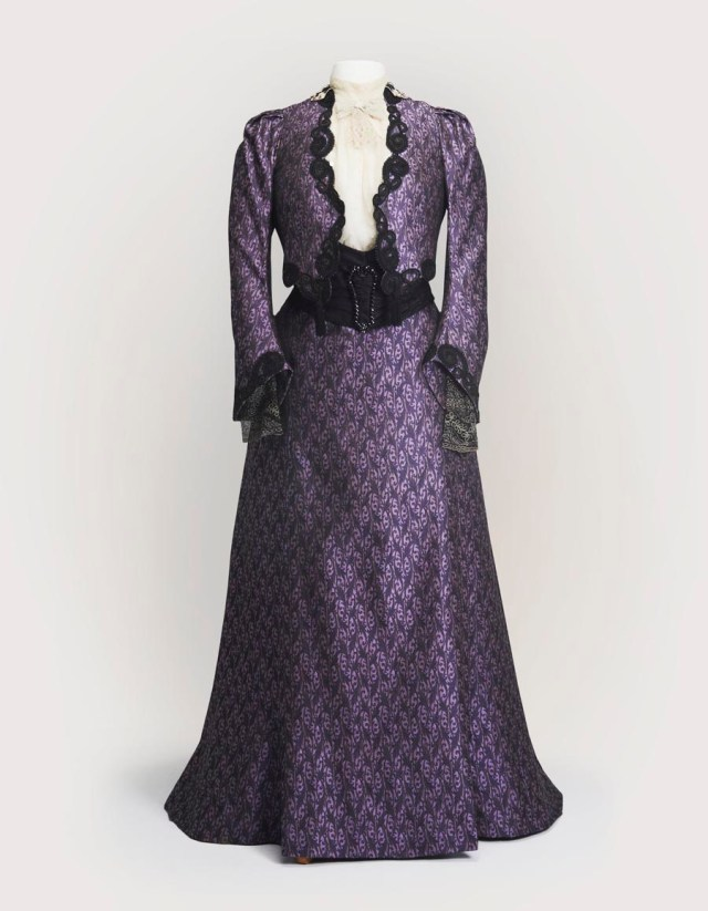 4. Dowager-Purple-Dress