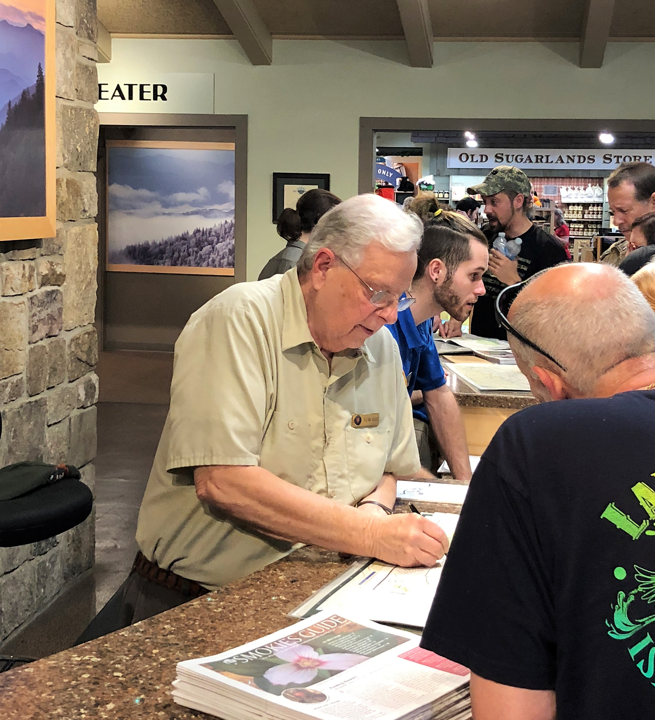 Talking With: Smoky Mountains Volunteer Finds His Mecca