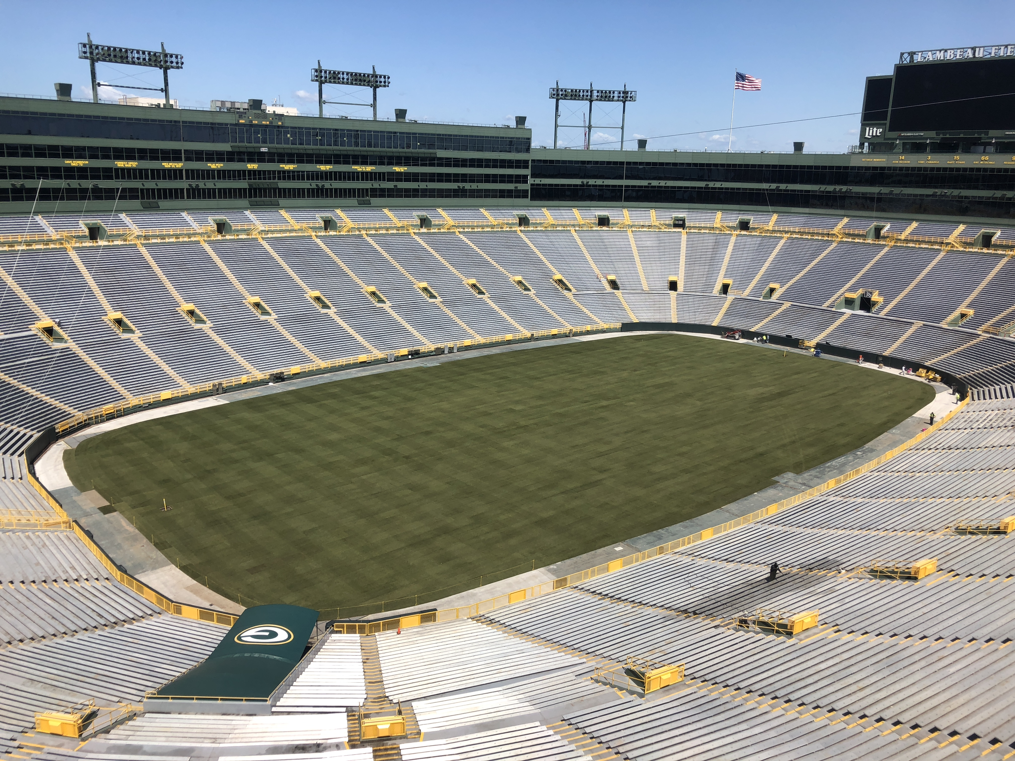 Score a Win with a Tour at the Packers' Lambeau Field