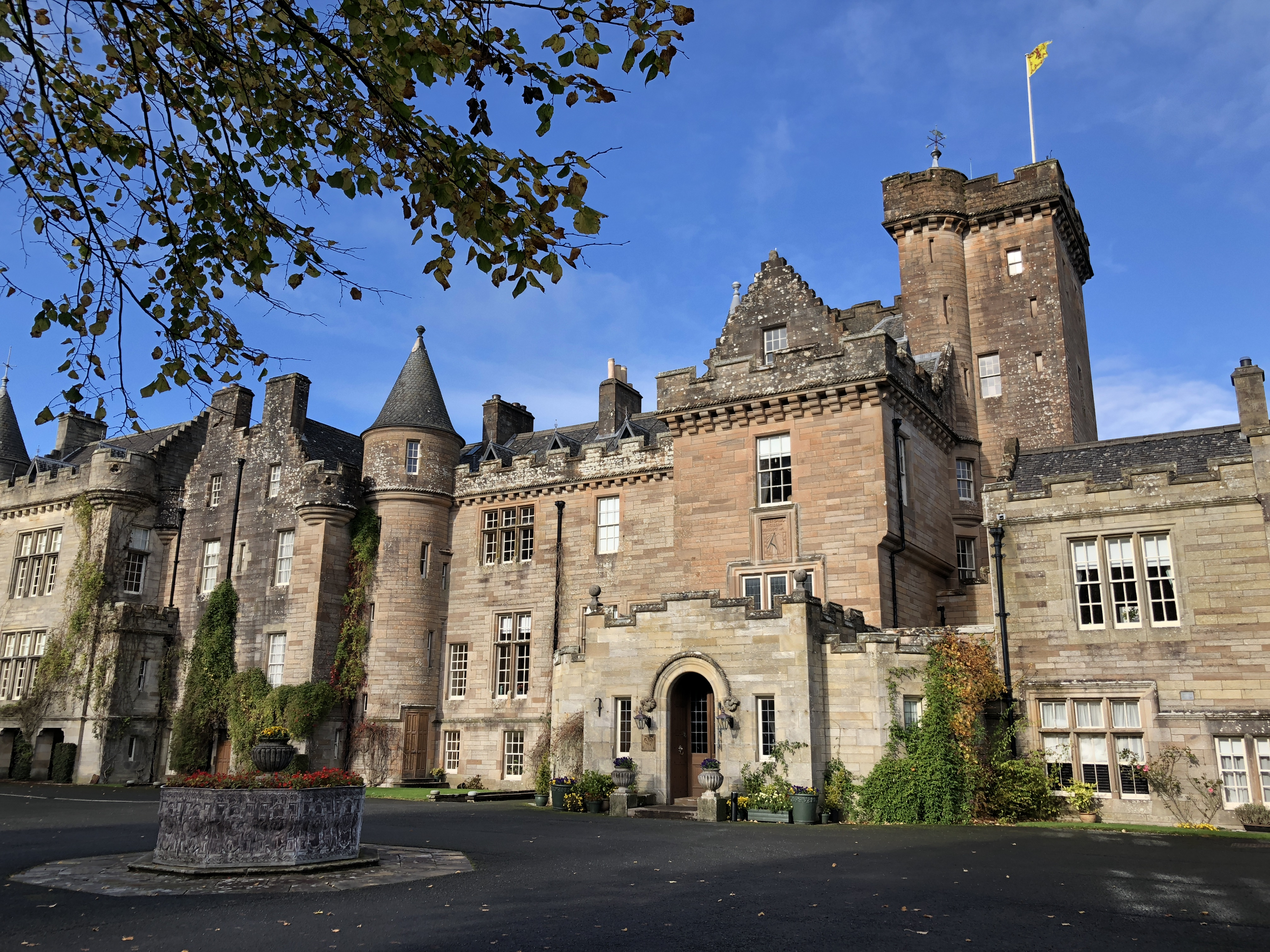 Bask in the Romance and History of Scotland's Glenapp Castle