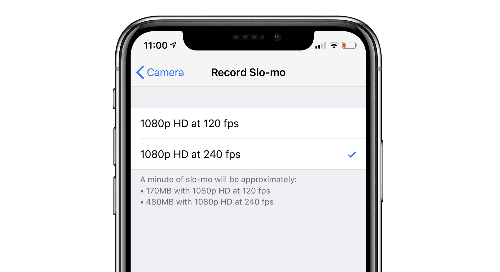 iPhone XS and iPhone XR record slow motion videos at 240 ...