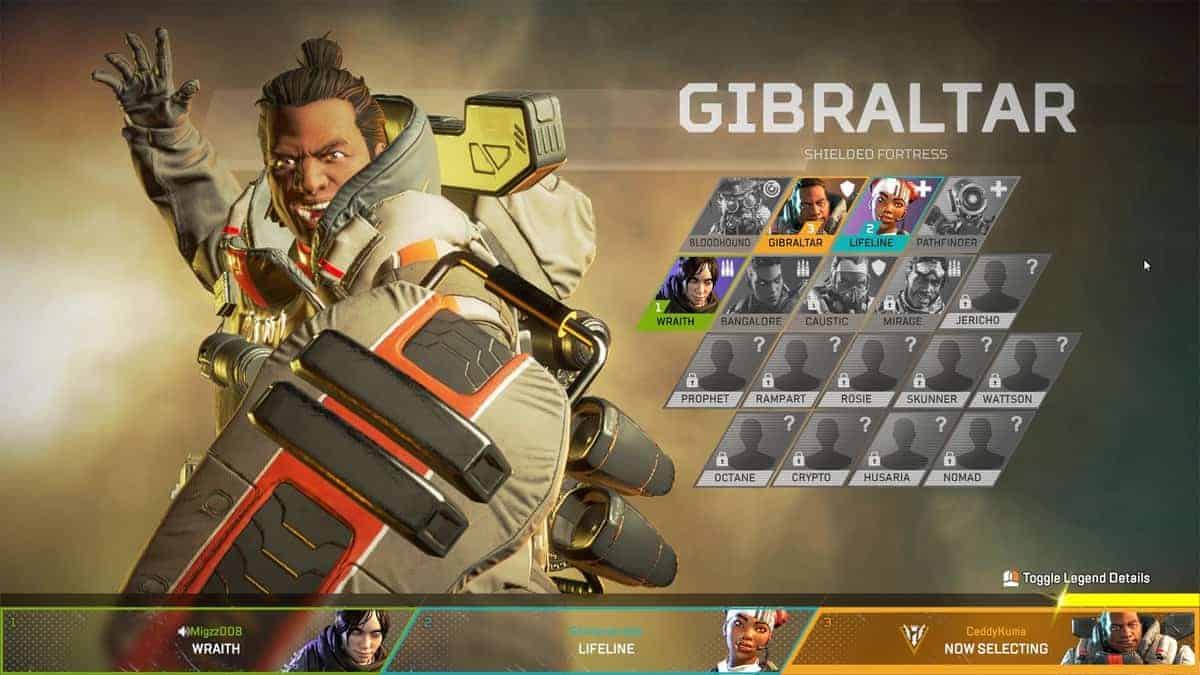 11 New Apex Legends Character Names Leaked All Things How