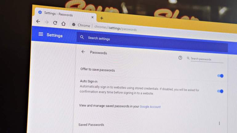 Find Passwords Chrome