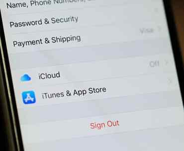iCloud iPhone Turn Off