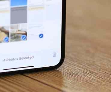 Mass Delete Photos iPhone