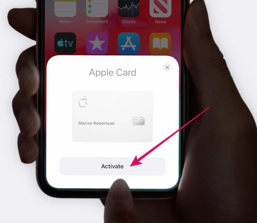 Activate Apple Card