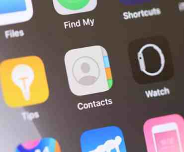 iPhone Contacts App Icon