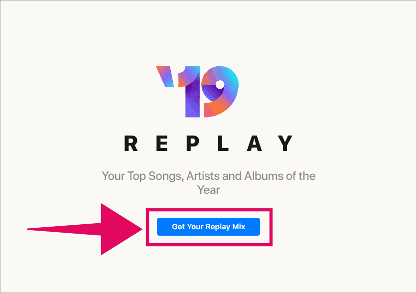 Click Get Your Replay Music button