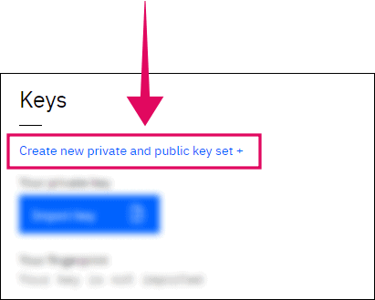 Create new keys MagicPad