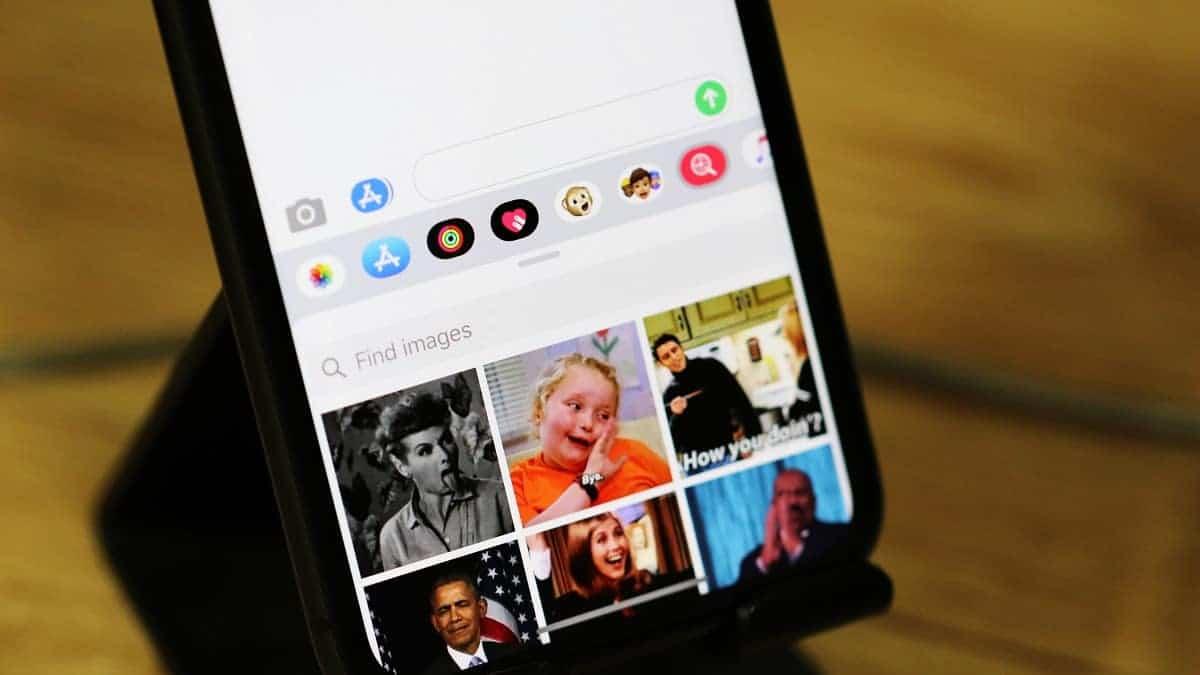 iMessage GIF Sharing