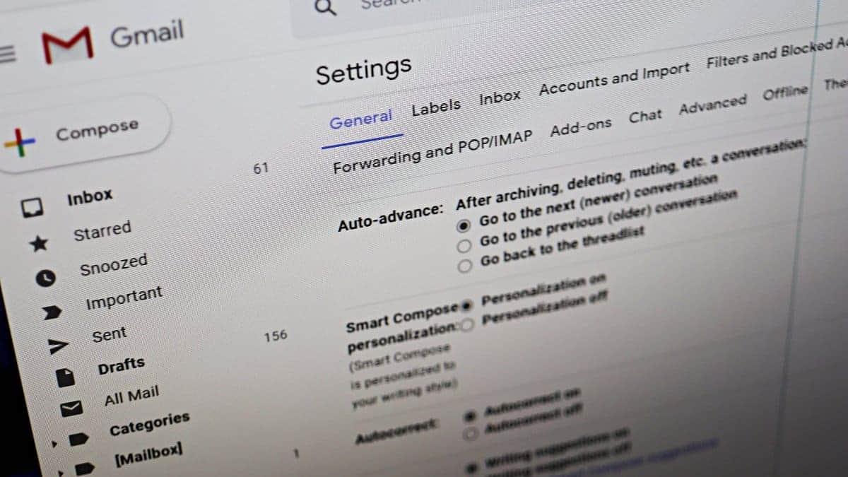 Gmail Auto Advance