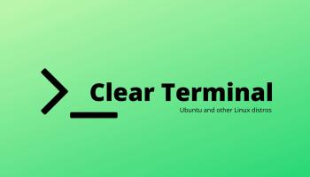 Clear Terminal