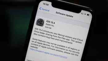 iPhone iOS 13.4 Update
