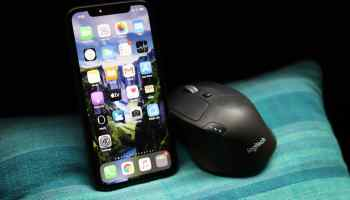 iPhone iOS 13.4 Mouse Support