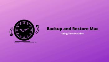 Backup and Restore Mac