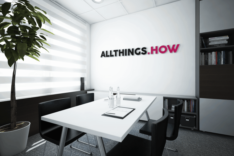 How to Get a Branded Office Background with Your Company ...
