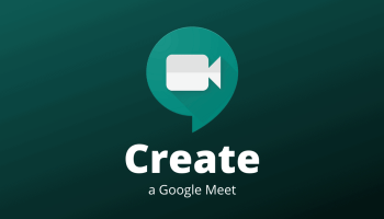 Create Google Meet