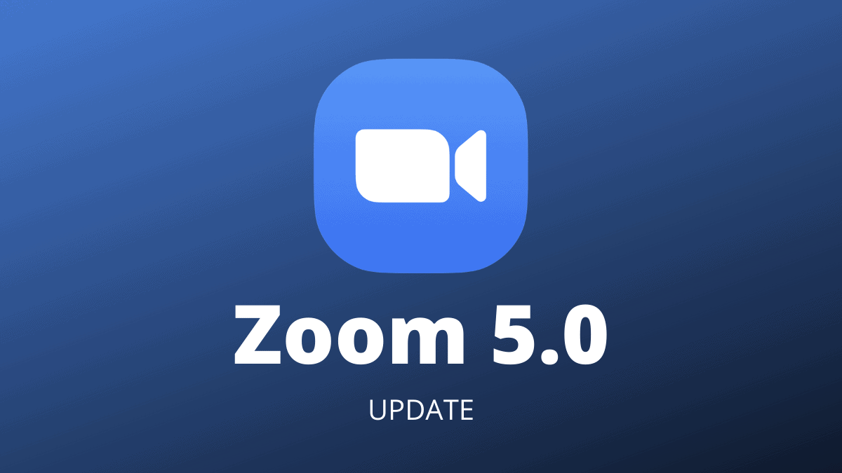 How to Download Zoom 5.0 Update - All Things How