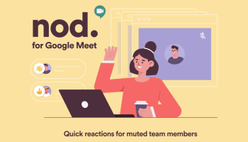 Google Meet Nod Chrome Extension
