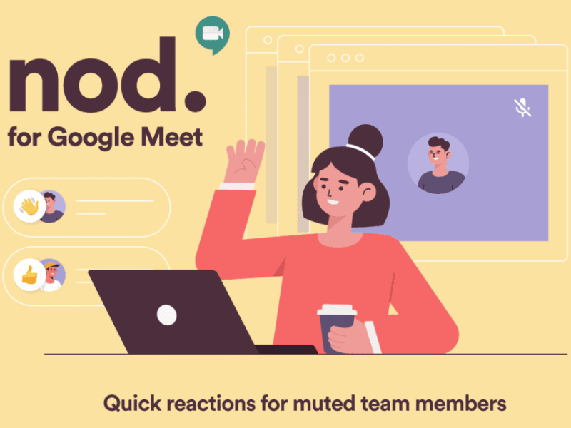 Google Meet Nod Chrome Extension