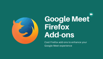 Google Meet Firefox Add-ons