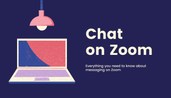 Chat on Zoom