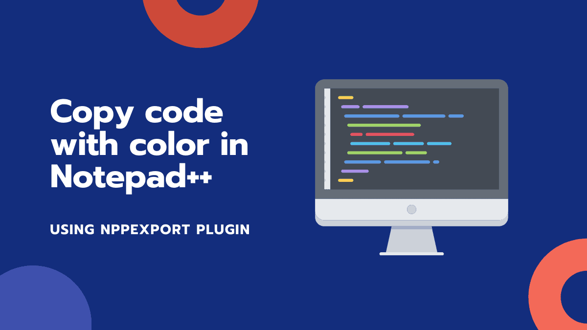 Copy Code with Color in Notepad++