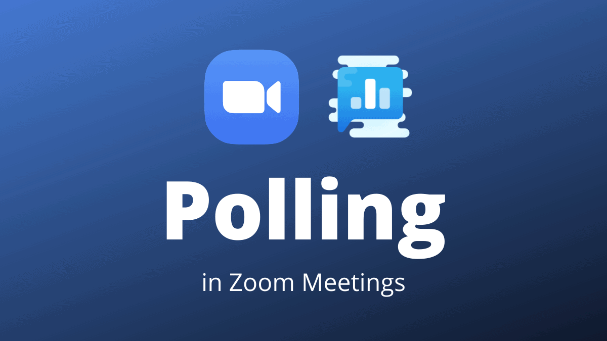 Zoom Polling
