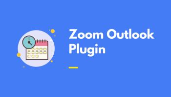 Zoom Outlook Plugin