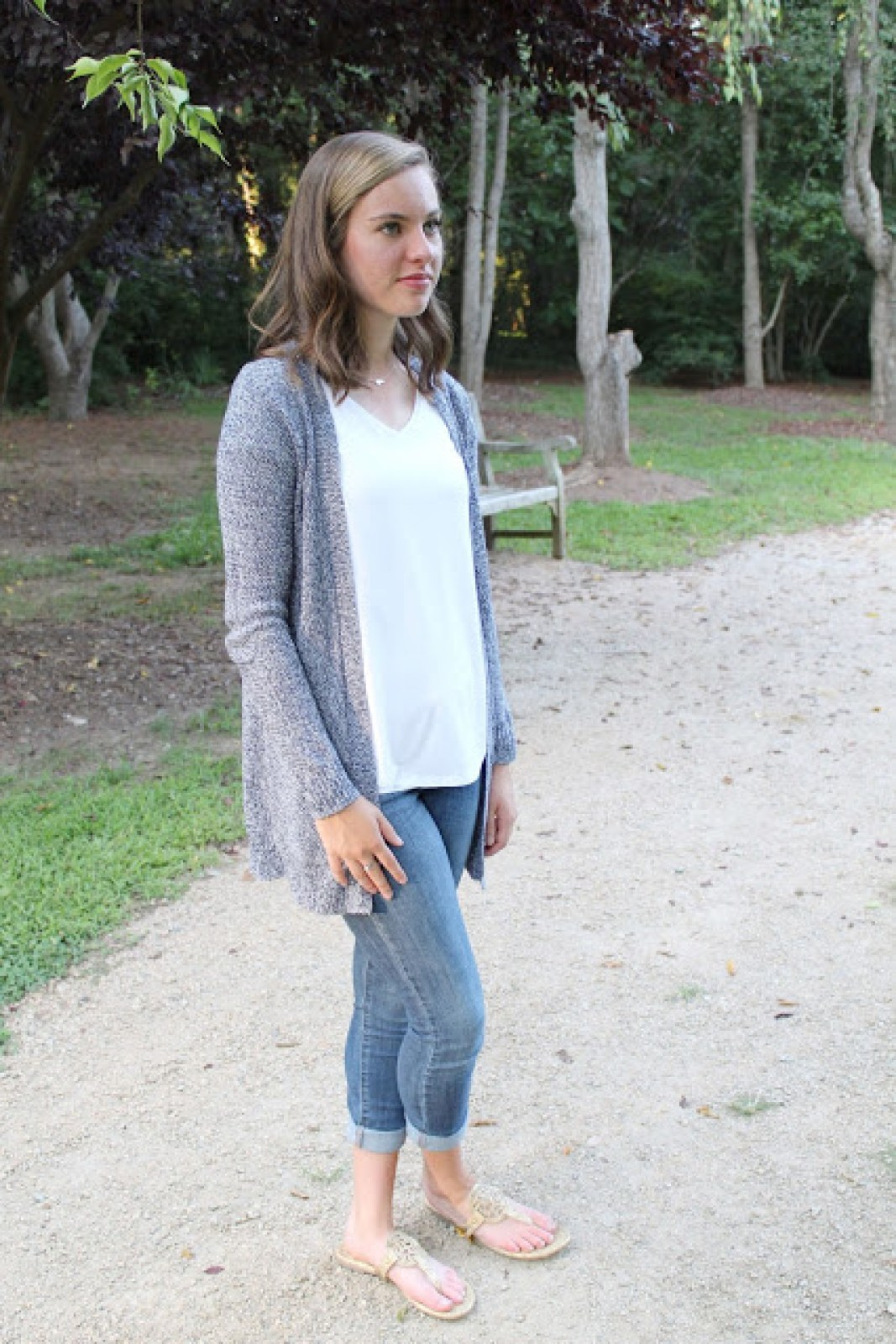 My go-to modest casual outfit perfect for fall or the transition from summer to fall!