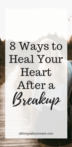 8 ways to heal your heart after a breakup!