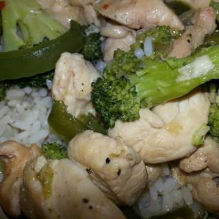 Broccoliand Chicken Stir Fry