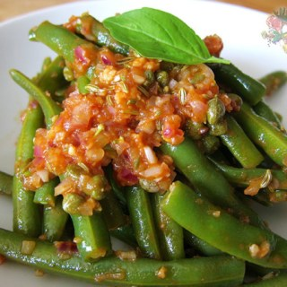 Green Beans, Tomato, Fennel & Capers