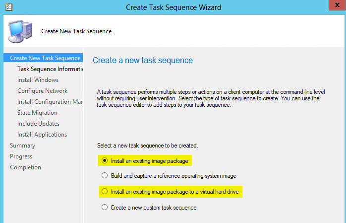 Task Sequences in ConfigMgr 2012 R2 (1/4)