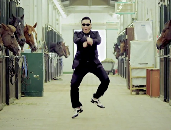 Sorry, this link is broken!  But PSY still made lots of money by ignoring copyright violations!  :)