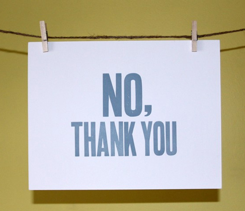 Image result for no thank you
